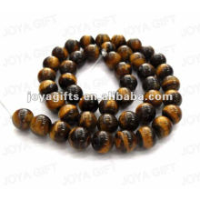 8MM Round Shaped tigereye stone beads