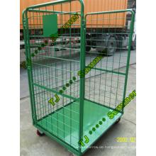 3-seitig öffnen Front Stahl Roll Container Kapazität