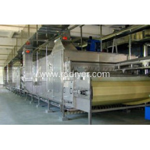 Conveyor mesh belt drier