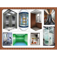 Panoramic Elevator for small shaft