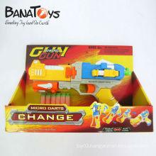 Wonderful gun transform into robot air soft toy gun
