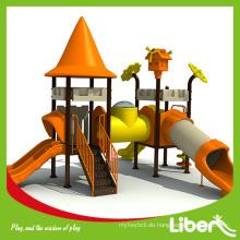 Heiße verkaufende Kinder Plastikspielschloss Spielplatz