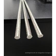 15 mm Glasfaser-Stützpfahl mit Polyesterschleier