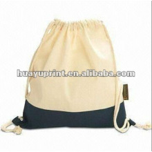 Cotton Drawstring Shopping Bag