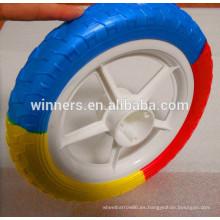 12 ruedas pequeñas y ligeras de bicicleta / rueda de cochecito