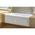 Cupc High Quality Simple Built-in Skirted Bathtub with No-Slipping Bottom
