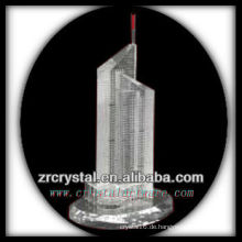 Wunderbares Kristallgebäude Modell H034
