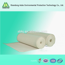 PPS nonwoven filter fabric for dust collector