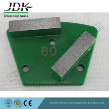 2 Rectangle Diamond Segment Trapezoid Grinding Shoes