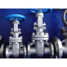 Válvula de porta de aço inoxidável da flange com padrão do ANSI (Z41F)