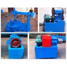 Máquina de moedura de rolo de borracha de reciclagem de pneus