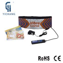 YC-1001 nuevos productos de vibración masajeador de la batería recargable como se ve en la televisión que adelgaza la correa