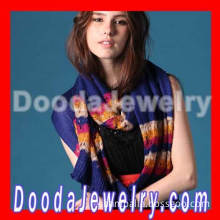 Fashion Girls Winter Warm Knitted Stripes Scarf Pattern 2013