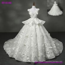 Neue Design Großhandel Weiß Lange Brautkleid W18348