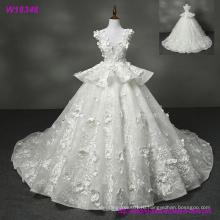 Новый Дизайн Оптовая Белый Длинный Свадебное Платье W18348