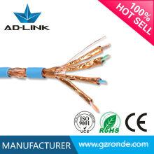 Cable cat7 de par trenzado