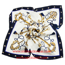 New Product Ladies Large Printed Natural Scarves Silk