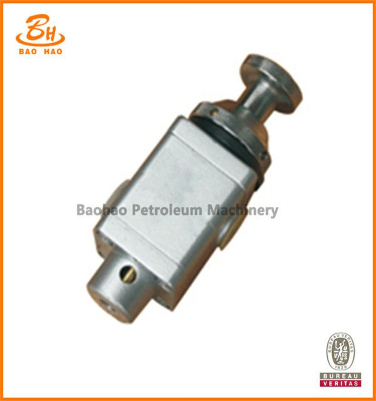 2 Position 3 Way Button Valve
