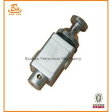 Two-Position Three-Way Button Valve