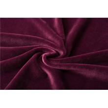 Трикотажная сверхмягкая ткань из 100% полиэстера для постельного белья