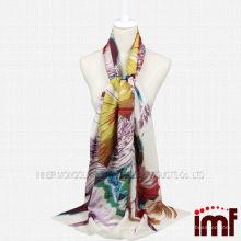 Весенняя летняя мода Petunia Wool Scarf