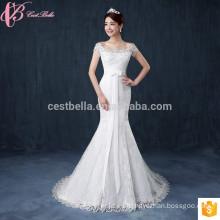 China La sirena atractiva más los vestidos de boda al por mayor del tamaño