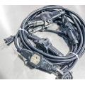 cabos de extensão com tomada de 4/5 SJTW 14/3