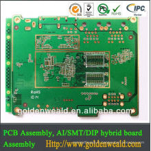 Panneau PCB de la carte PCB ul94v-0 de carte PCB d'aluminium de monocouche