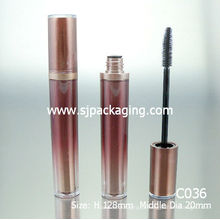 High capacity tube for mascara cosmetics