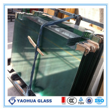 CE-certifierad Float Type Clear Toughened Glass