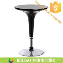 Bar bar moderno bar muebles de la mesa plástico ABS ajustable alto