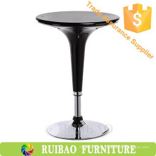 Cheap Modern Bar Table Bar Furniture Plastic ABS ajustável alto