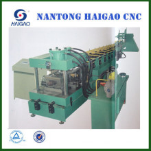 Back-cut CNC Punch C Purlin steel roll making machine/ cnc c steel machine
