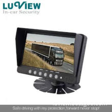 stand alone 7 inch LCD monitor with backup camera for Farm Tractor