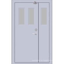 Porta de aço Fireproofing / porta avaliado fogo (YF-F05)