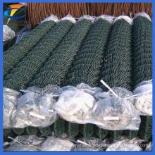 50 * 50mm, 60 * 60mm PVC beschichtetes Kettenverbindungs-Draht-Ineinander greifen