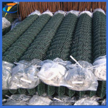 50 * 50mm, 60 * 60mm PVC revestido Chain Link Mesh de arame