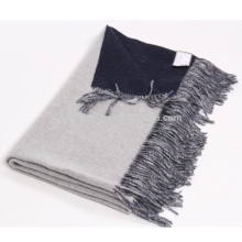 Home use 100% cashmere double faced wholesale blanket