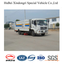 4cbm Dongfeng Compact Garbage Collection Road Kehrmaschine LKW