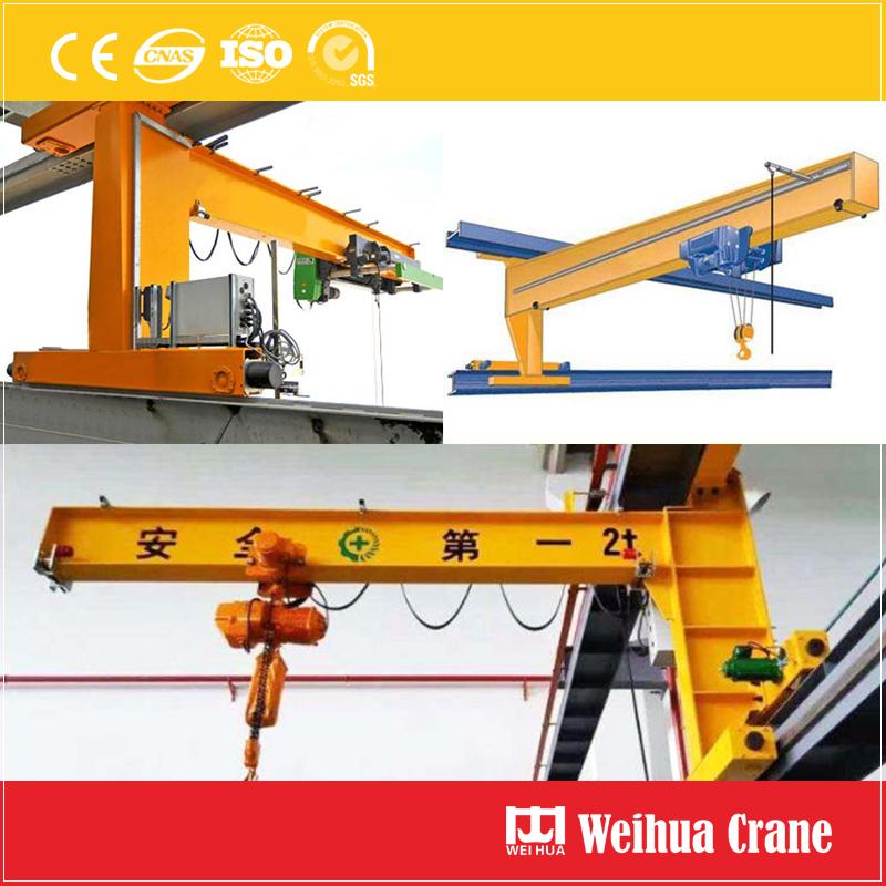Traveling Wall Jib Crane