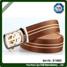 Fashion casual men genuine leather belt male belts with automatic buckle