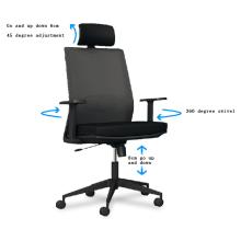 Silla moderna Silla giratoria de lujo de oficina de gran jefe