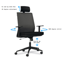 Whole-sale price Modern regulable chairair permeability office chair