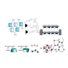 Beta cyclodextrin epichlorohydrin copolymer