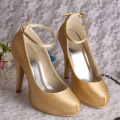 Ankle Strap Wedding Platform Shoes
