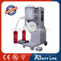 Equipment for fire extinguisher refiller to extinguisher/fire extinguisher refill machine