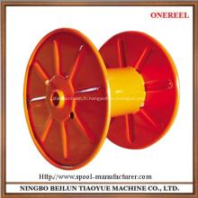 enrouleur de câble vide en acier industriel tambour spooler