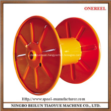 empty industrial steel cable reel drum spooler