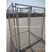 Supply Dog Wire Cage/Metal Dog Cage with Crate for Dog/Welded Dog Cage for Sale/Poultry Farm Feed Cage for Chicken Rabbit Dog Pig