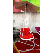 White Swing hanging chair, swing chair,rattan swing chair